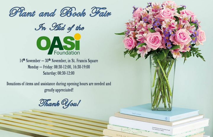 OASI Foundation Plant and Book Sale now open in Victoria