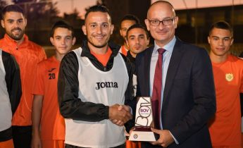 Rodney Buttigieg of Xewkija Tigers wins September POM Award