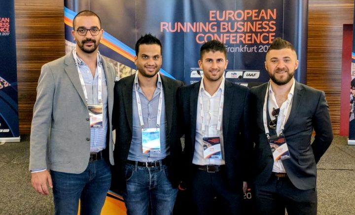 Gozo Half Marathon organising committee attends Frankfurt conference