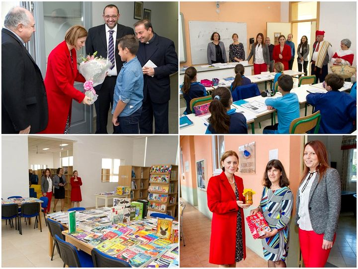 Gozo Minister celebrates Universal Children's Day with school visits