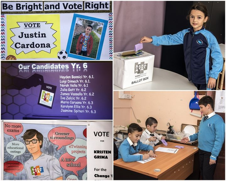 Victoria Primary School hold their Student Council Election