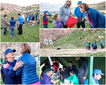 Outdoor activities weekend organised by Victoria and Xaghra Groups