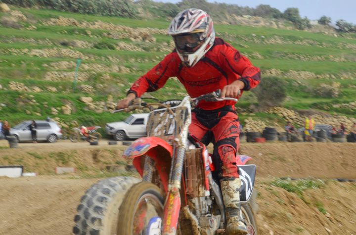 18 riders compete in second round of Gozo Motocross Championship