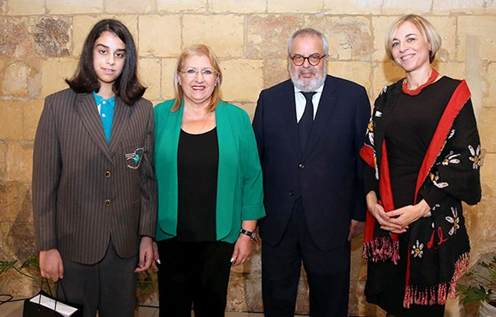 Gozitan student Katya Muscat wins €2 coin design competition