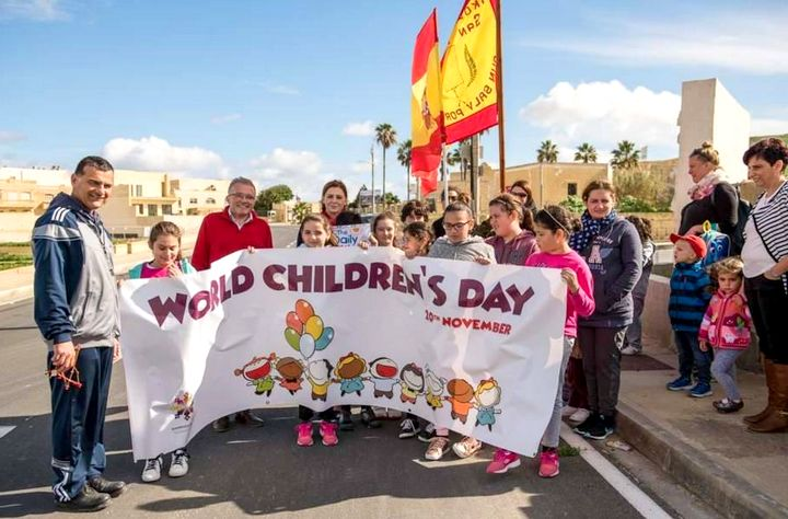 San Lawrenz Primary School celebrates Universal Children's Day