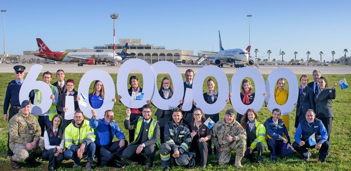 MIA welcomes its 6 millionth passenger on the last day of 2017
