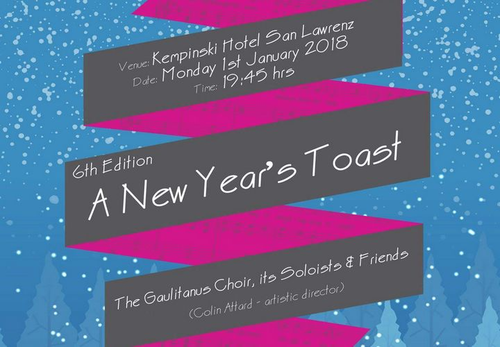 Join the Gaulitanus Choir in a New Year's Toast in Gozo