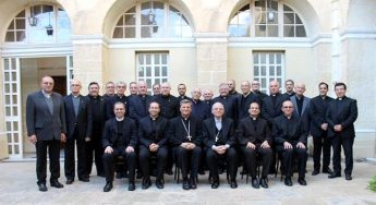 Mgr. Alessandro D'Errico visits the Gozo Major Seminary