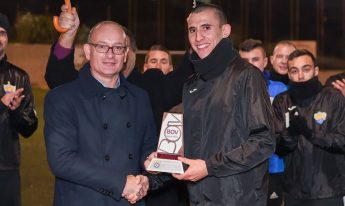 Shaun Attard of Nadur Youngsters lands November award
