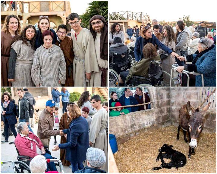 The joy of Bethlehem f'Ghajnsielem Nativity Village for everyone