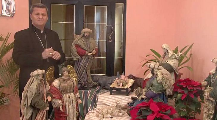 Christmas video message by Gozo Bishop Mgr Mario Grech