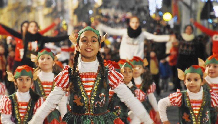 Gozo Christmas Parade with colourful costumes, dance and much more
