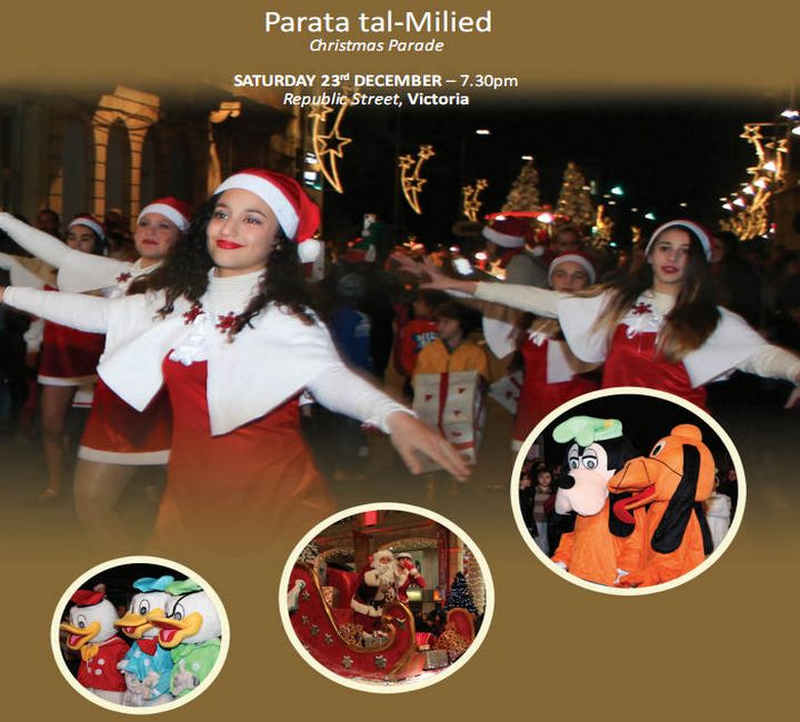 Christmas Parade in Gozo: Dancing, festive costumes and much more..