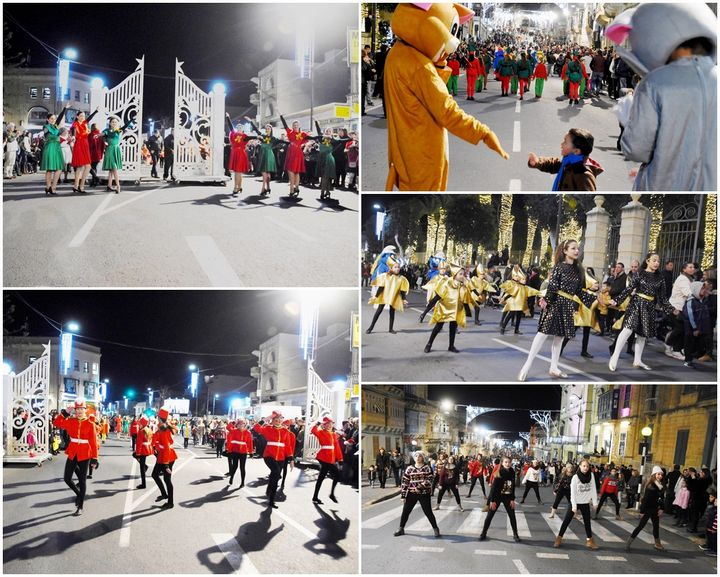 Over 200 dancers take part in colourful Gozo Christmas Parade