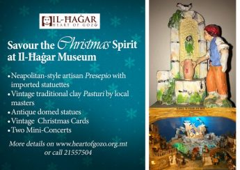 Enjoy the Christmas Spirit at Il-Hagar Museum in Victoria, Gozo