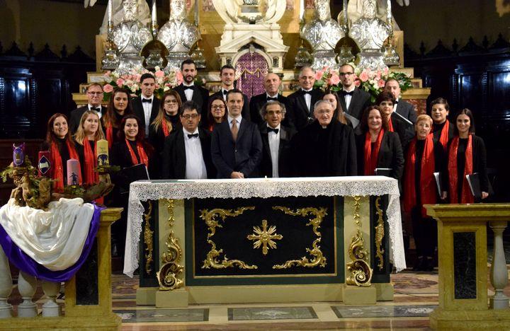 Gozo's Gaulitanus Choir returns from Lombardia concert-tour