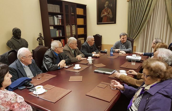 National Council for the Elderly meets with Gozo Bishop Mario Grech