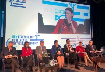 Gozo Minister attends UFM Conference in Napleson the Blue Economy
