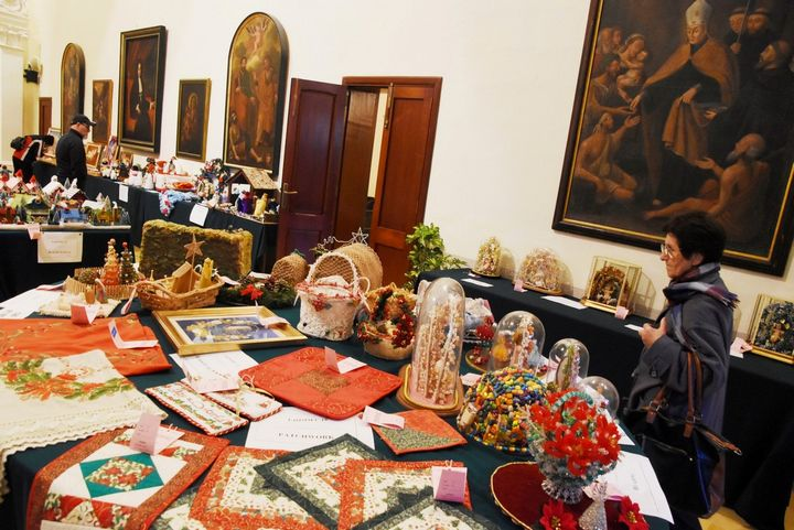 Christmas Exhibition of hand-crafted items at the Ministry for Gozo