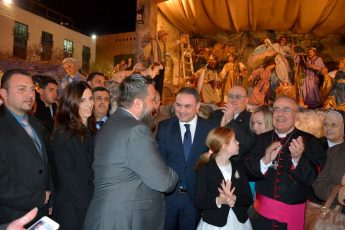 Artistic crib by Gozitan Manwel Grech inaugurated in Bethlehem