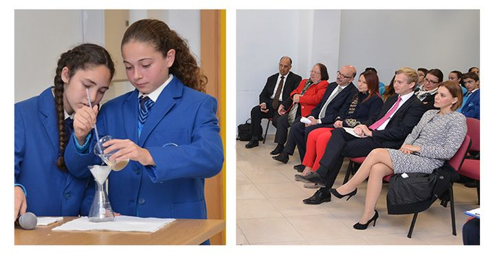 HSBC sponsors Gozo Secondary Ilma Gieri water conservation project