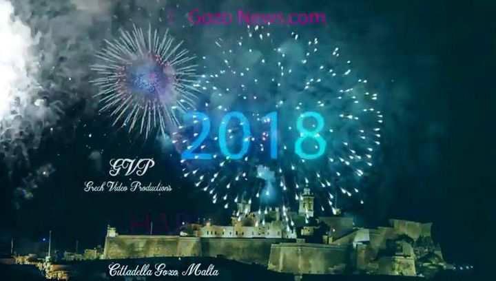 Happy and Healthy New Year to all from the Gozo News Team