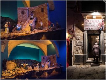 Gozitan crib with a difference on display in St George's Square, Victoria