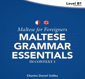 New book for foreigners: Maltese Grammar Essentials in Context 3