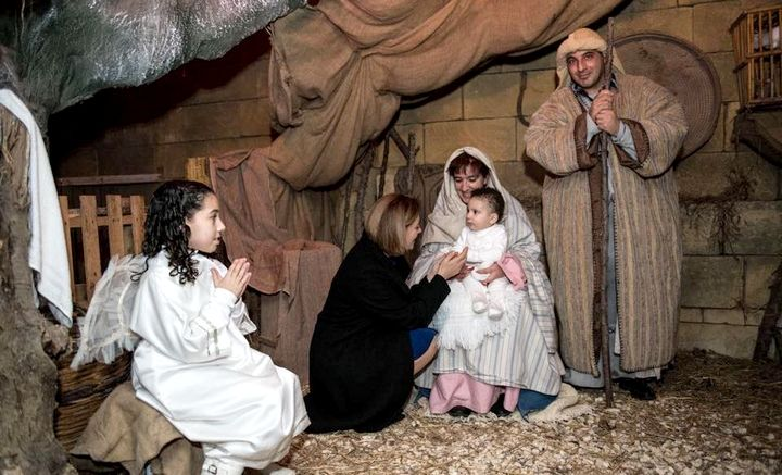 Last few days to view the setting of the Living Nativity in Nadur