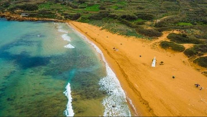 Gozo's Ramla Bay - one of World's Most Beautiful Red Sand Beaches