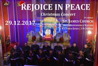 Santa Cecilja Foundation in Rejoice in Peace - A Christmas Concert