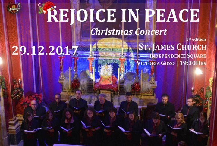 A Christmas Concert this Friday with the Santa Cecilja Choir