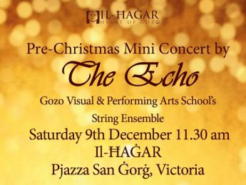 Pre-Christmas Mini Concert this Saturday at Il Hagar Museum, Gozo