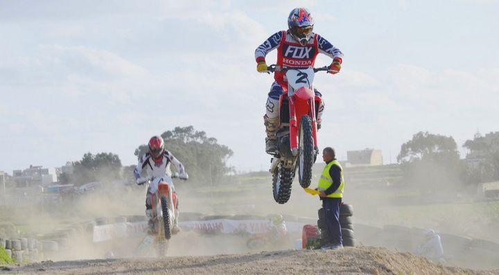 David Dimech wins Class A in Round 3 of Gozo Motocross Championship