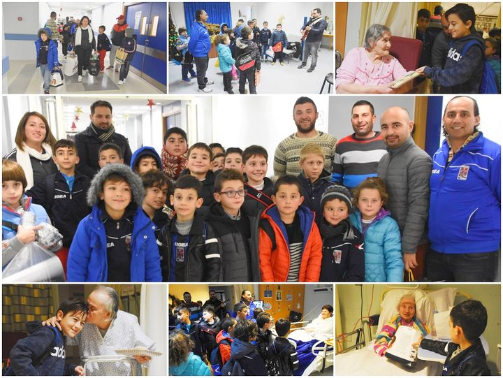Charity begins at home - with Xaghra United Football Club and Nursery