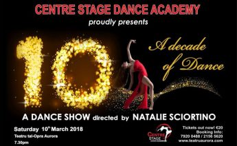 Centre Stage Academy is in celebration mood - 10... A Decade of Dance