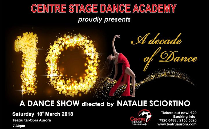 Gozo's Centre Stage Dance Academy celebrating A Decade of Dance
