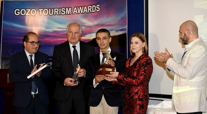Manuel Sultana wins Gozo Tourism Worker of the Year Award