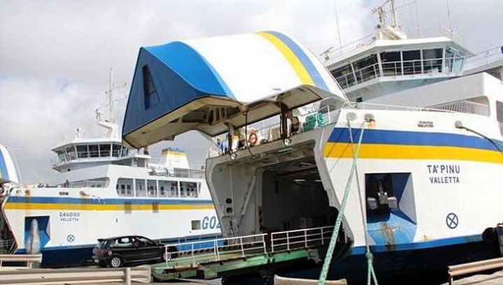 Gozo Channel's MV Ta' Pinu off-service till end of January