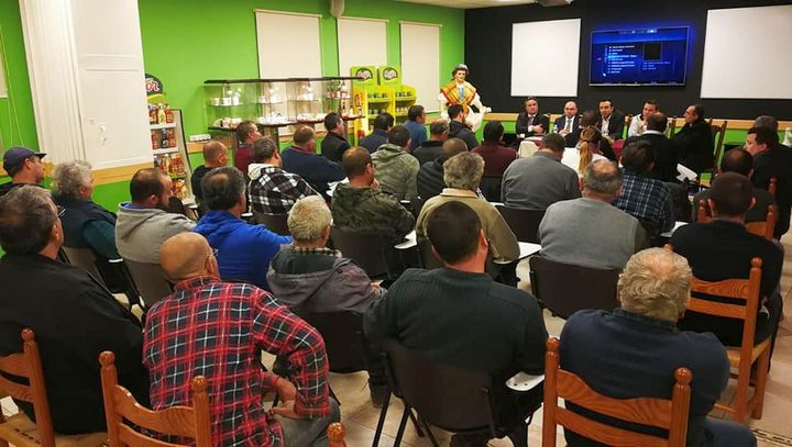 PS Clint Camilleri attends meetings for farmers in Gozo and Malta
