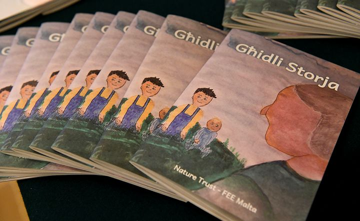 Ghidli Storja: A book by children for children launched today