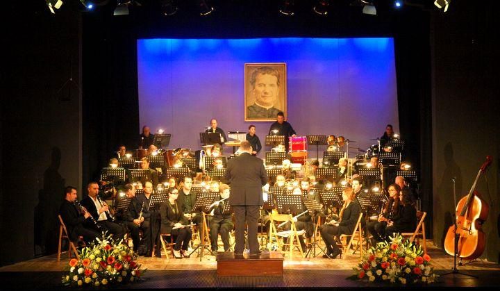 The Gozo Youth Wind Band in Concert for Don Boso Feast