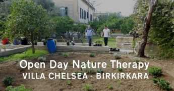 Open Day at the Villa Chelsea garden with Friends of the Earth Malta