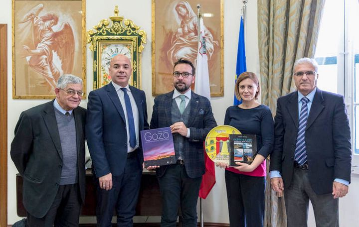 Minister for Gozo meets with Palermo delegation on future cooperation