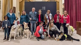 Five visitors with a difference at the Ministry for Gozo