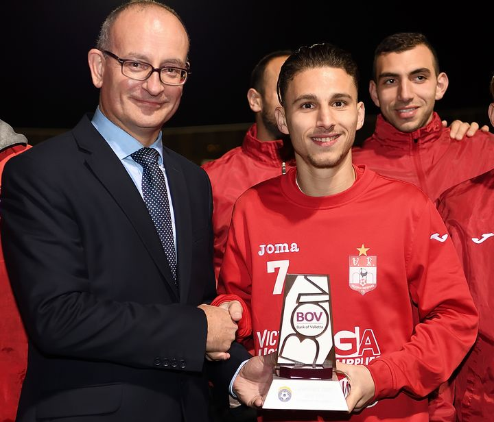 Victoria Hotspurs' Christian Mercieca wins January Award