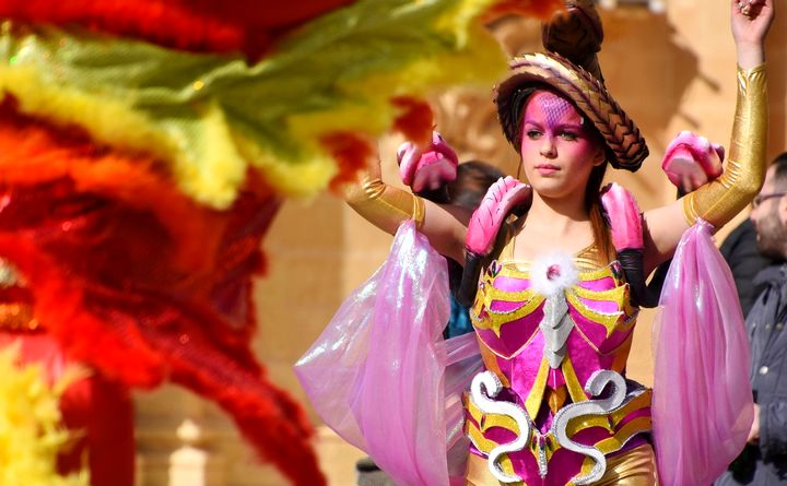 Gozo carnival celebrations disrupted through the bad weather