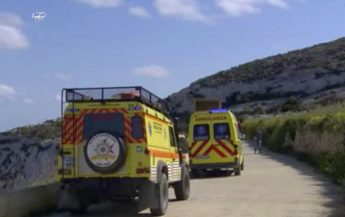 ERRC assist in rescue of climber at Mgarr ix-Xini cliffs