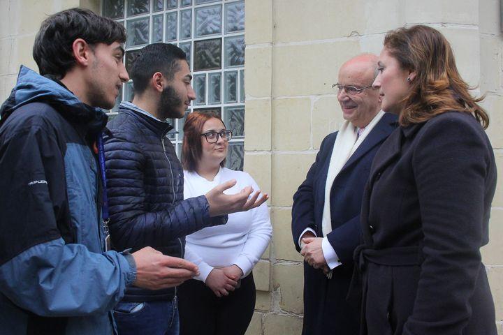 Zammit Dimech and Comodini Cachia visit MCAST Campus