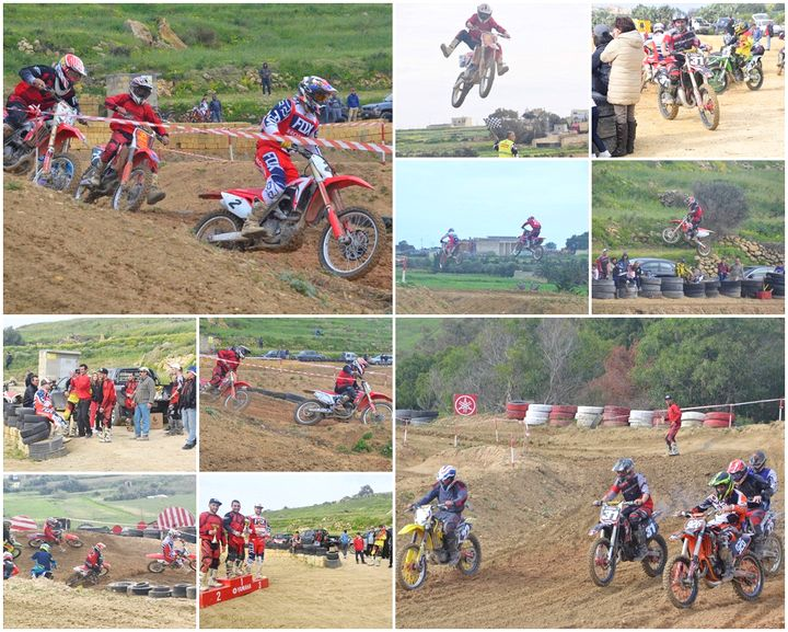 Steve Xuereb wins class A in Round 5 of Gozo Motocross Championship